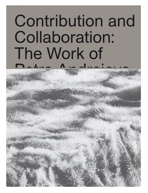 Contribution and Collaboration: The Work of Petra Andrejova-Molnár and Her Contemporaries, by Katarina Burin