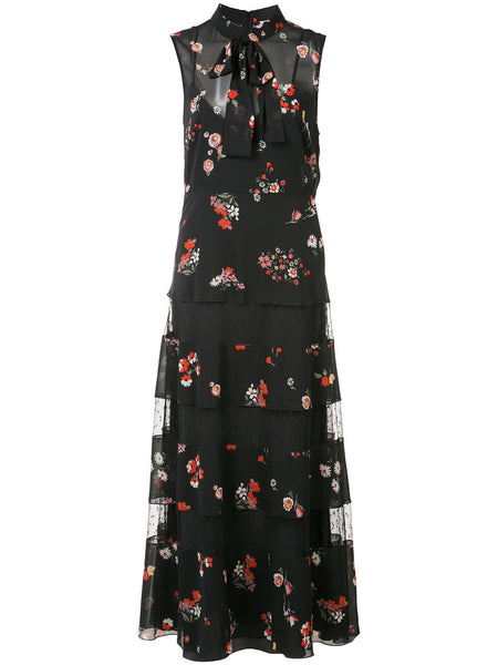 Red Valentino sheer dress