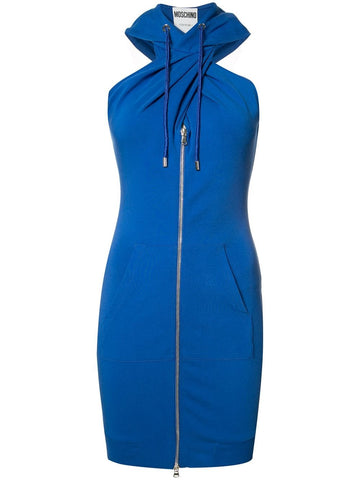 Twist Front Hoodie Dress