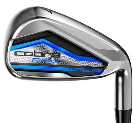 Cobra F-MAX Airspeed Irons Steel Shaft