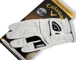 Mens Callaway Tour Authentic Glove Right Hand  (Medium, Med-Large, Large, X-Large)