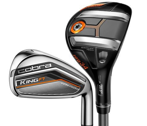 Cobra KING F7 Combo Irons Steel/Graphite