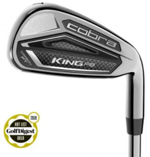 Cobra KING F8 Irons Steel Shaft