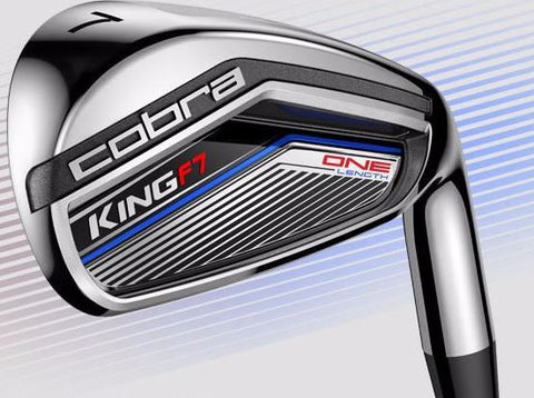 Cobra KING F7 Irons Graphite