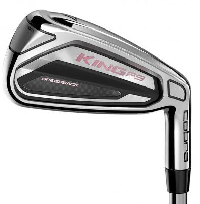 Cobra KING F9 SPEEDBACK Irons Graphite Ladies