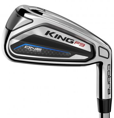 Cobra KING F9 SPEEDBACK ONE Length Irons Steel Shaft