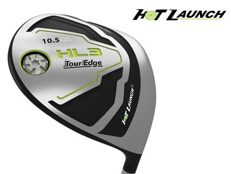 Tour Edge Hot Launch 3 Offset Driver Graphite Ladies