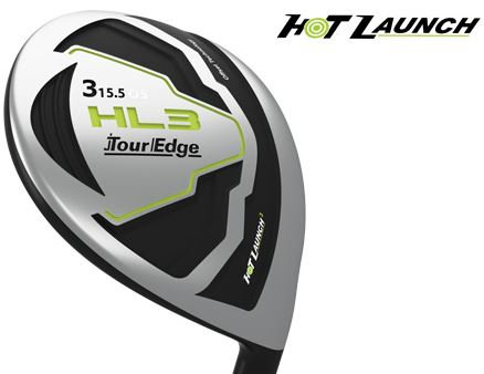 Tour Edge Hot Launch 3 Offset Fairway Woods Graphite Ladies