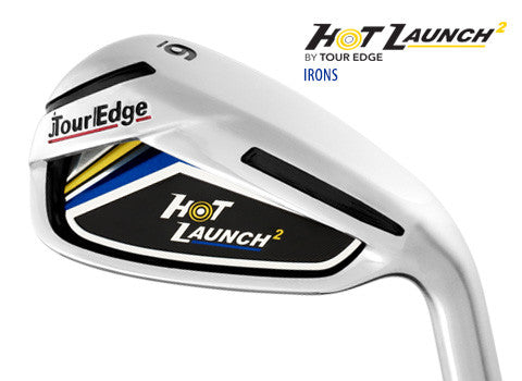 Tour Edge Hot Launch 2 Irons Graphite Shaft Ladies