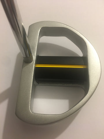 Tiger Shark Great White GS-3 Center Shafted Mallet Putter with FREE Zero Friction Glove