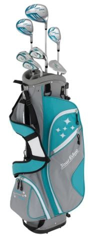 Tour Edge Lady Edge Combo Complete Ladies Set   (7 Piece with Stand Bag)