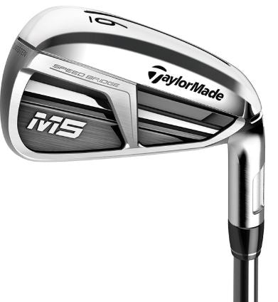 TaylorMade M5 Irons Steel Shaft (2019 GOLF DIGEST HOT LIST GOLD WINNER)
