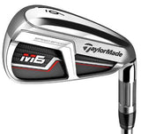 TAYLORMADE M6 Irons Steel Shaft (2019 GOLF DIGEST HOT LIST GOLD WINNER)