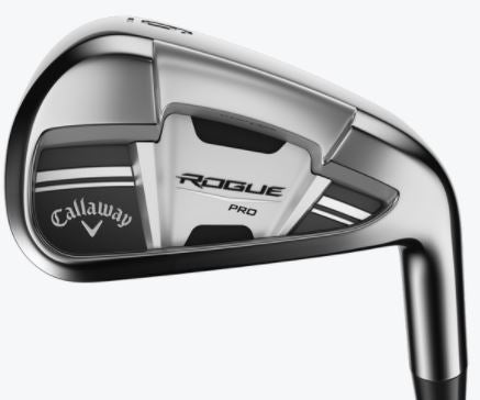 Callaway Rogue Pro Irons Steel Shaft