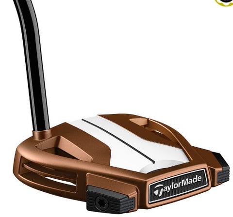 TaylorMade Spider X Copper SINGLE BEND Putter (2019 GOLF DIGEST HOT LIST GOLD WINNER)