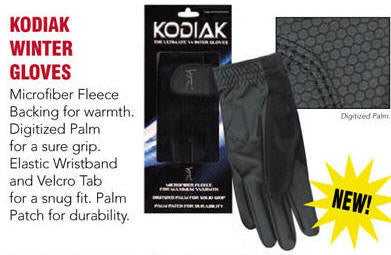 Ladies Kodiak Winter Gloves (1 right hand & 1 left hand)
