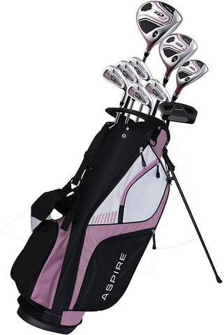 Aspire XD-1 LADIES 13pc Complete Set with Stand Bag