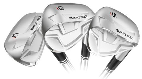 Cleveland Smart Sole 4 Wedges Steel & Graphite Available