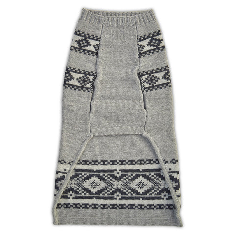 The Fair Isle Dog Sweater
