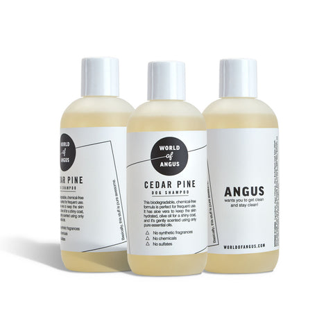 Three Pack Dog Shampoo