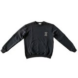 H Logo Crewneck in Black