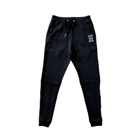 H Logo Sweats in Black