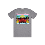 Miami Crusin' Tee - Heather
