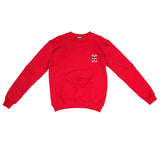H logo crewneck in Red