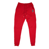 H Logo Sweats in Red