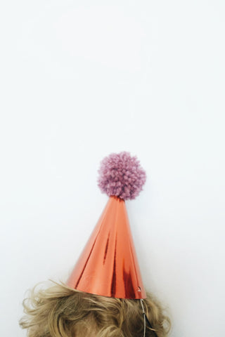 Yarn Ball Party Hat