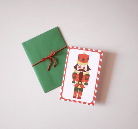 Holiday Card-  Nutcracker