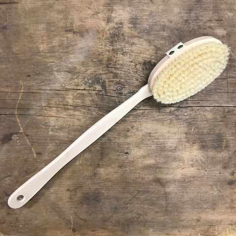 Bath Brush, Beechwood