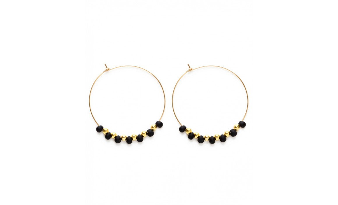 Bayas Hoops - Black