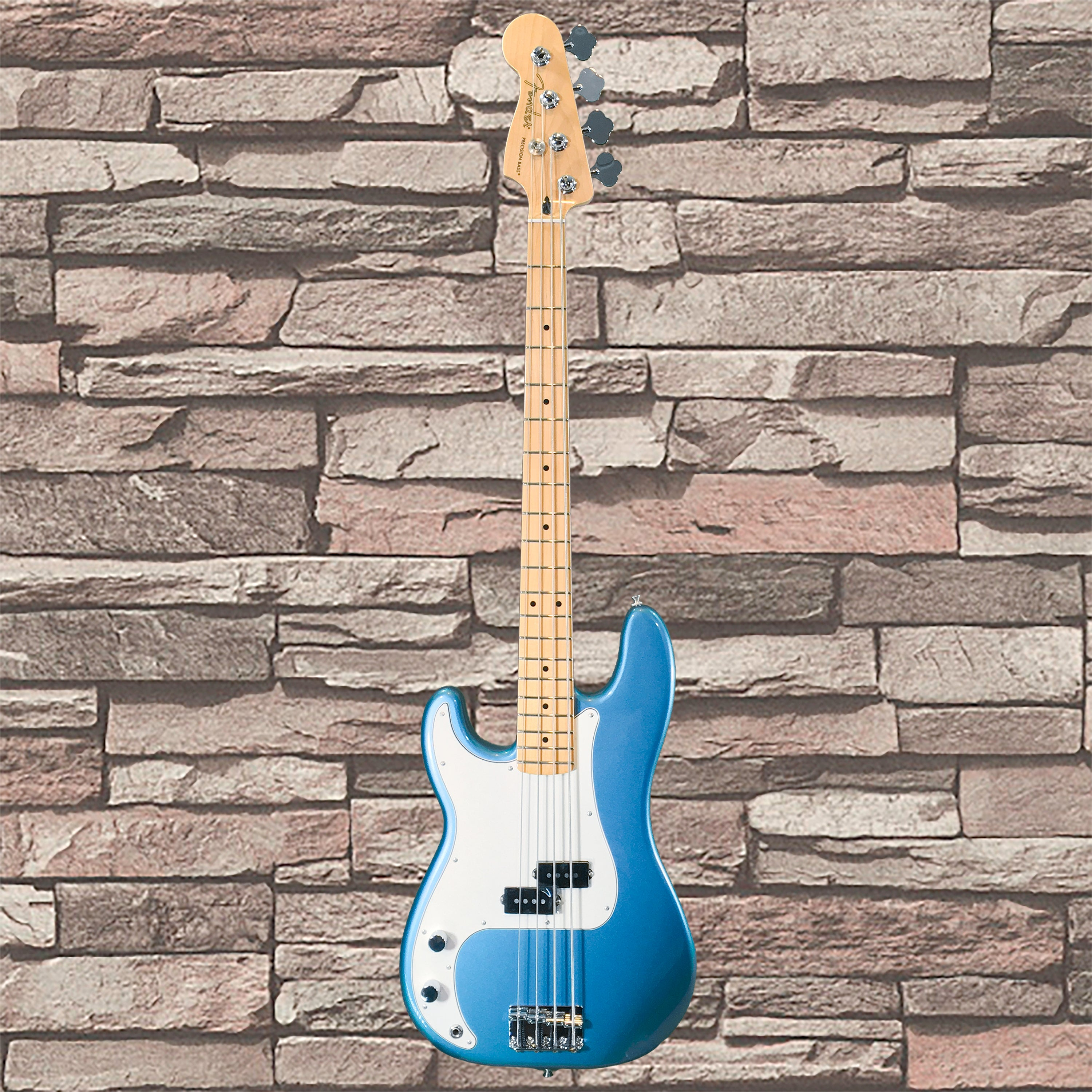 Fender Player Precision Bass Maple Fingerboard Left Handed Tidepool Accurate Tone Control