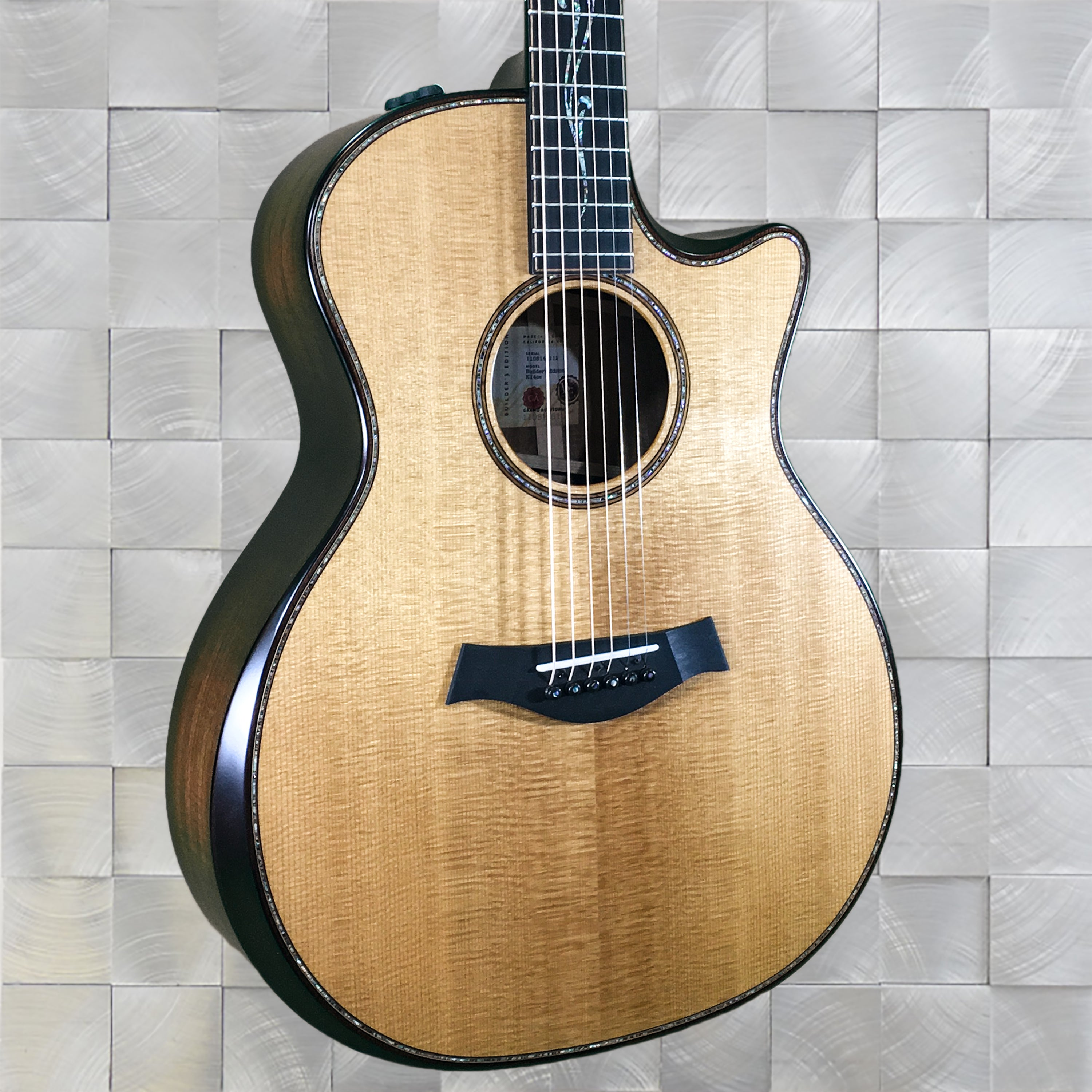 Taylor Tagged Guitars Page 2 Huber Breese Music Guitar Kit Builder Understanding The 5way Switch K14ce V Class Builders Edition Grand Auditorium Acoustic Kona Burst