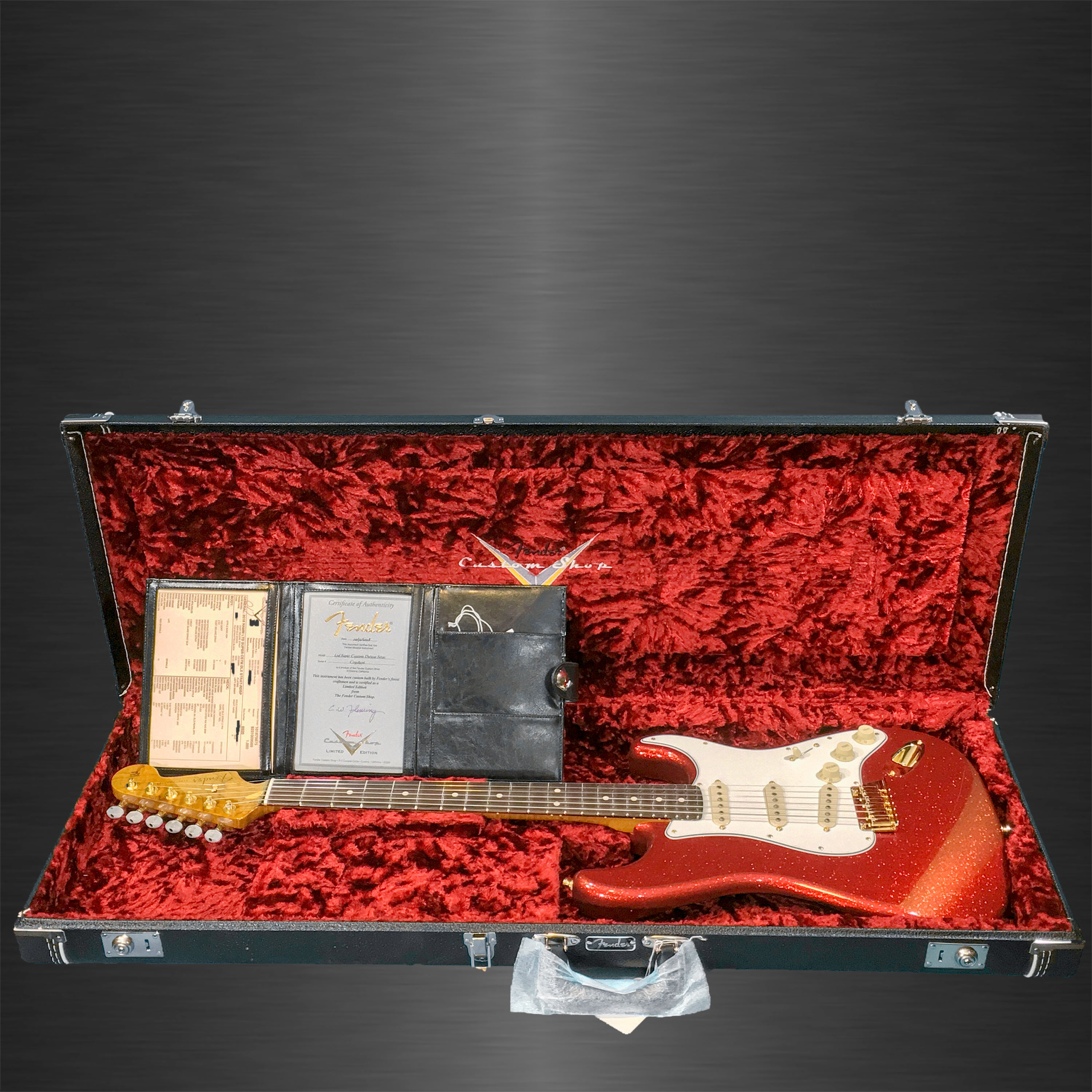 Products Tagged Fender Page 7 Huber Breese Music Schaller 3way Switch Wiring Custom Shop 2018 Namm Limited Super Deluxe Stratocaster Red Sparkle