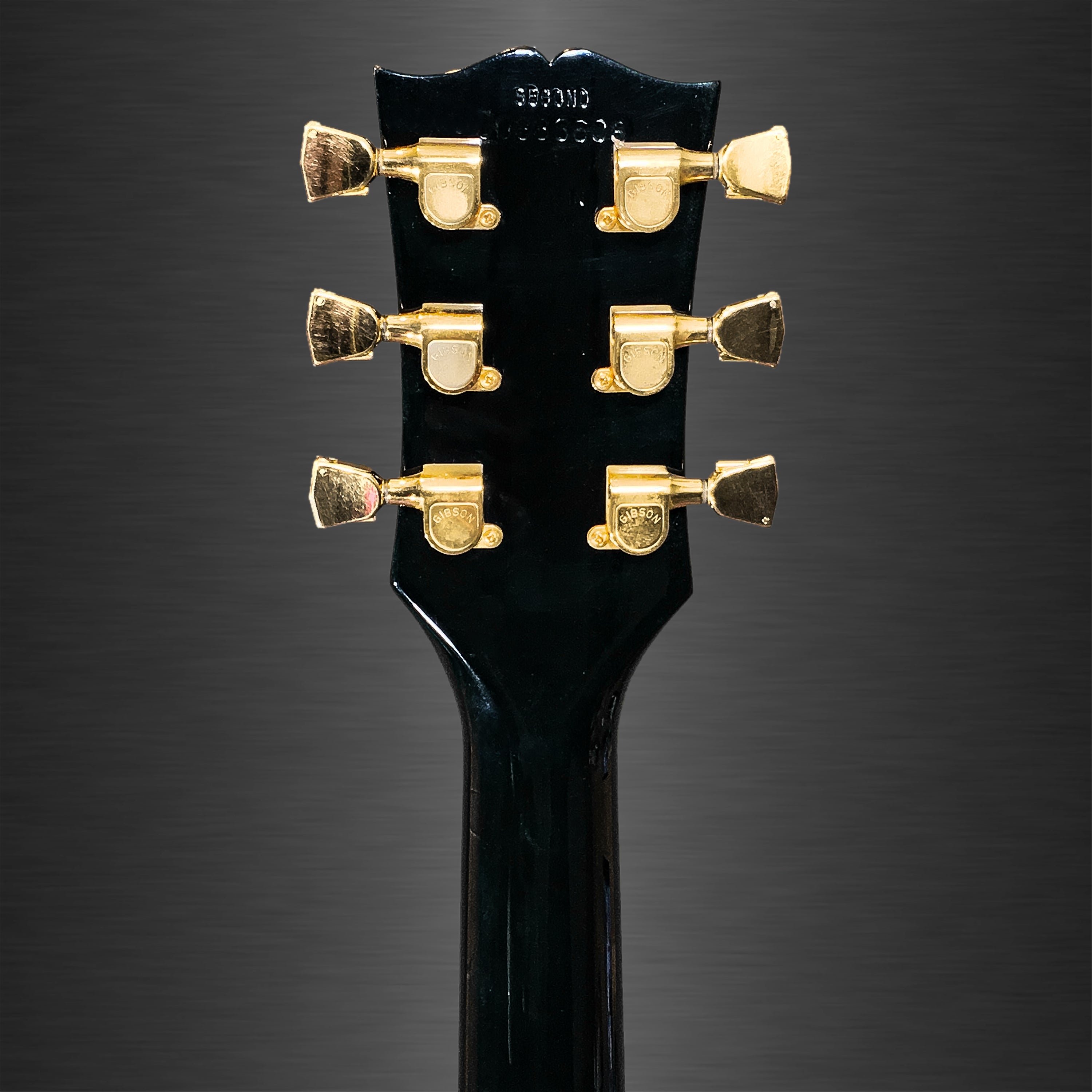 Electric Guitars Tagged Gibson Huber Breese Music Two Tone Controls Typical For Les Paul Sg 335 And Many Other Gibsons 1983 Custom Ebony Vintage