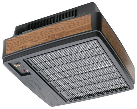 1250 CFM Electronic Air Cleaner, Black with Woodgrain