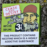 Cease and Desist - Sour Apple O's - E-Cig Room