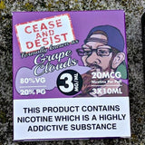 Cease and Desist - Grape Clouds - E-Cig Room