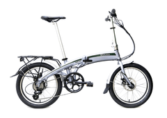 "OY CX E8D 20"" E-Bike Silver"
