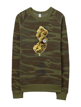 Eclectic Taste NJ Buds Eco-Fleece Sweatshirt