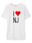 I Love NJ T-Shirt by Rack the Crown