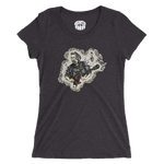Eclectic Taste Jerry Garcia Womens Tri-Blend T-Shirt