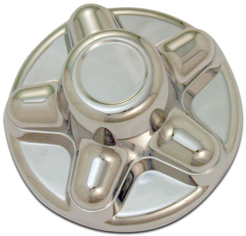 Silver ABS Hub Cover 5 bolt