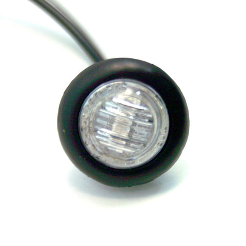 "LED Bullet Light, 3/4"" Clear Lens and 1"" Grommet"