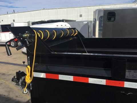 Dump trailer tarp system complete manual kit fraser wholesale dump trailer tarp system complete manual kit sciox Image collections