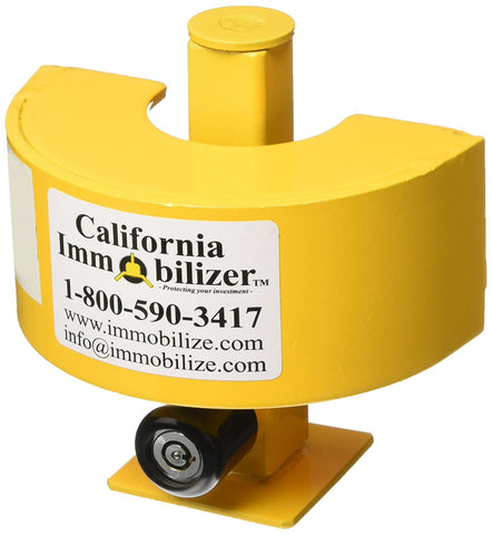 Trailer Coupler Lock California Immobilizer