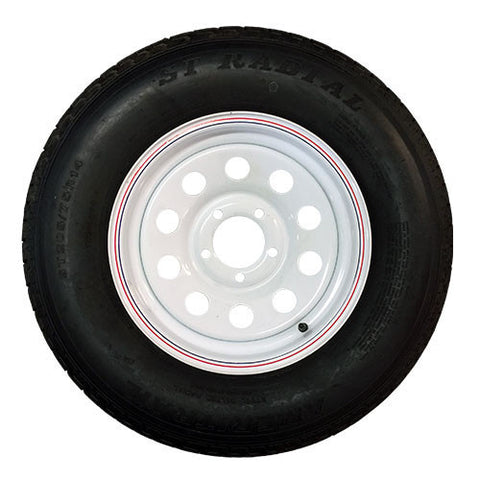 "15"" Trailer Radial Tire & Rim ST205/75/R15"
