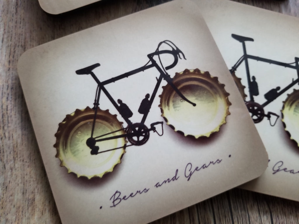 Beers and Gears Coasters